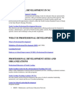 ix562 professional development in nc