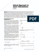 A semianalytical Aproach to Pseudopressure Canculations