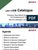 03 Derek Gillard - Service Catalogue Journey