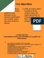 8. Tilde Diacritica