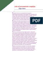 Edgar Morin, Introduccion al pensamiento complejo.pdf