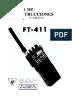 Manual Handy Yaesu FT411