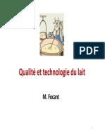 Technologie Du Lait 2012-13