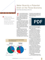 """Water Scarcity a Potential Drain on the Texas Economy"""
