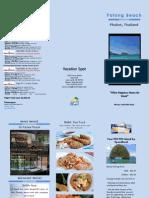 vacation brochure