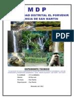 El Porvenir 600 Ha Definitivo 2012[1]