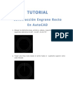 Engrane Tutorial 1100 Autocad