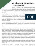 Xabiel - Autonomía obrera y comandos autónomos