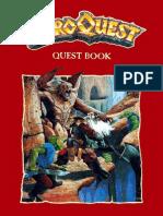 HERO QUEST Uk Kk Quest Book