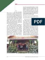 Chapel report