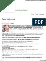 Apple Pie America