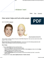 How Racism Helps and Hurts White People