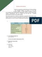 aplicación del teorema de Buckinjam para motores  Diesel , en su relación consumo potencia