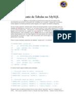 Relacionamento de Tabelas No MySQL