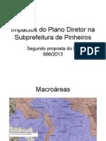 Impactos Do Plano Diretor Na Subprefeitura de Pinheiros