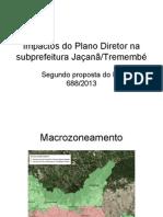 Impactos do Plano Diretor na subprefeitura Jaçanã