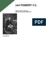 George Vincent FOSBERY v.C. (1832 - 1907)