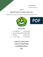 Prosedur Pemeriksaan Siklus Belanja Daerah