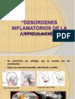 Desordenes inflamatorios de la articulación