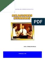 Manual de Relaciones Humanas