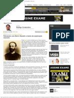 Refutando com Bohm-Bawerk a teoria da exploração marxista - Rodrigo Constantino