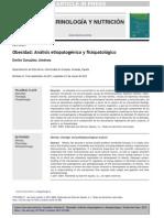 Obesidad Análisis etiopatogénico y fisiopatológico