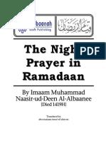 En Night Prayer in Ramadan