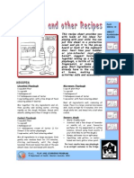 Leaflet - Playgroup Recipes