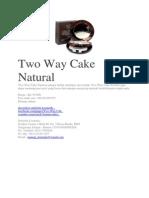 Two Way Cake Natural