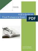 KOD Final Year (M.B.B.S) - Survival Guide