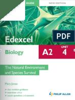 A2 Student Unit Guide Edexcel Biology Unit 4