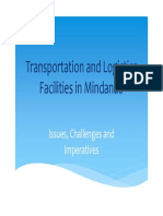 Transportation and Logistics Facilities in Mindanao