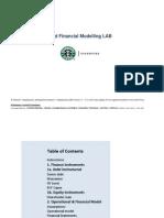 Finance Modeling Lab