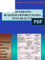 Converting BUSINESS Opportunities Into Reality
