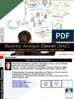 Business Analysis Canvas [Análise de Negócio] v1