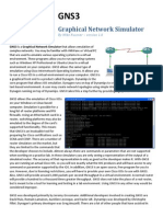 GNS3 0.5 Tutorial(1)
