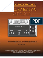 Rocktron Utopia G100 - Owner's Guide