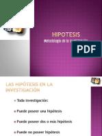 Hipotesis y Variables