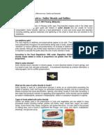 Toxic Food Preservatives - Sulfur Dioxide