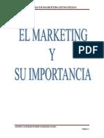 El Marketing Como via Para El Posicionamiento de La Marca y Su Importancia