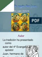 03 Evangelio de San Juan, Lugar y Fecha de Composicion