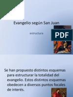 04 Evangelio de San Juan, Estructura