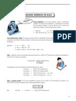 QUIM - Guía Nº 3 - Unidades Químicas de Masa