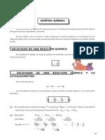 QUIM  GUIA Nº 4 - Cinética Química