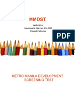 Metro Manila Dev Screening Test