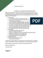 Surat Pajak Cv.khamila Utama 2013