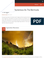 10 Places as Mysterious as the Bermuda Triangle - Listverse