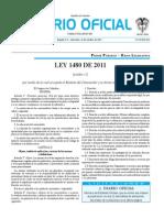 ley 1480 de 2011