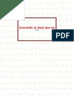 Scientific & Holy Qur'an