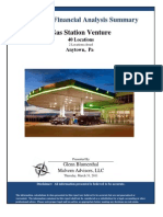 Gas Venture Property Analysis
